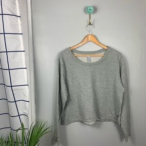 GapFit Factory Cropped Sweatshirt